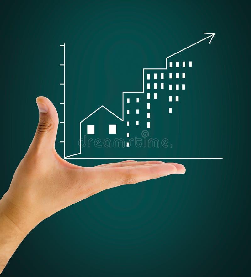 Η επιχείρηση ακίνητων περιουσιών είναι καλή στοκ εικόνες με δικαίωμα ελεύθερης χρήσης