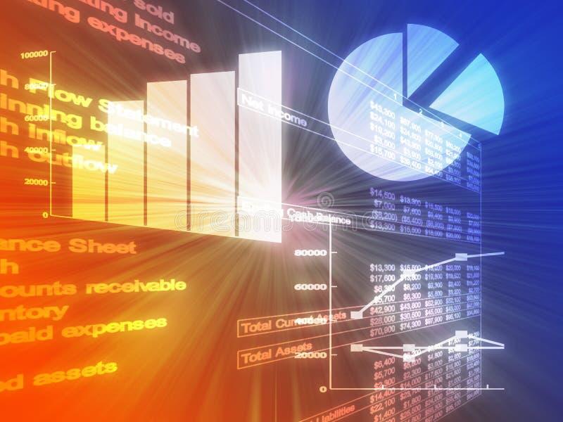 η επιχείρηση σχεδιάζει τ&omic απεικόνιση αποθεμάτων