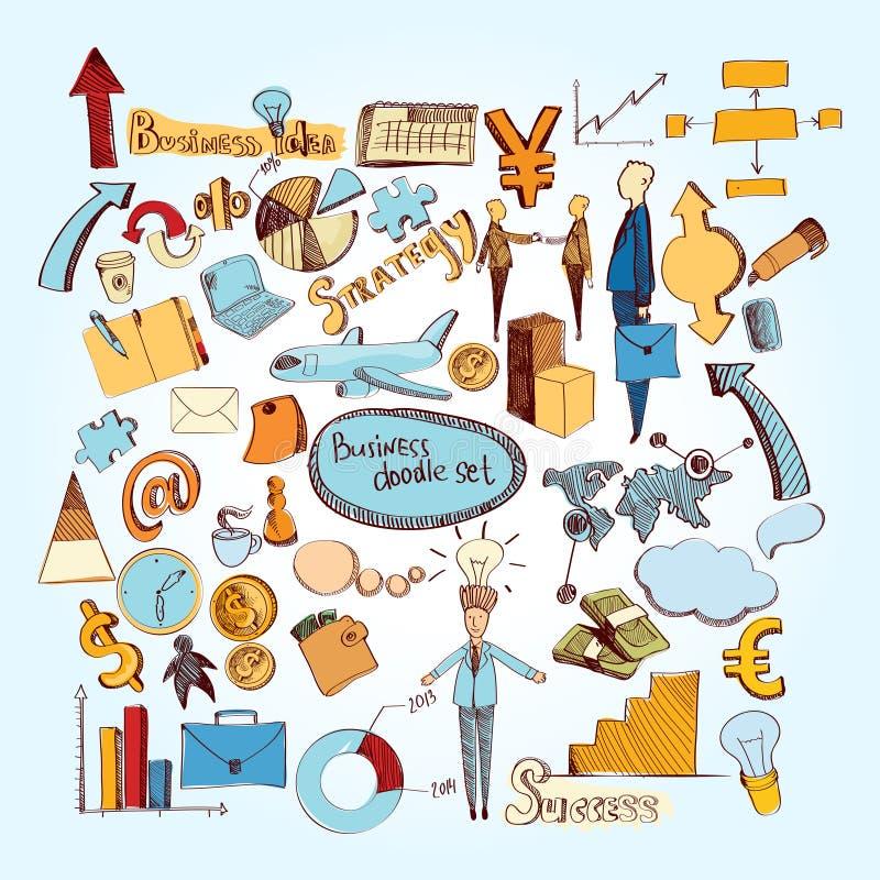 Η επιχείρηση doodle έθεσε ελεύθερη απεικόνιση δικαιώματος