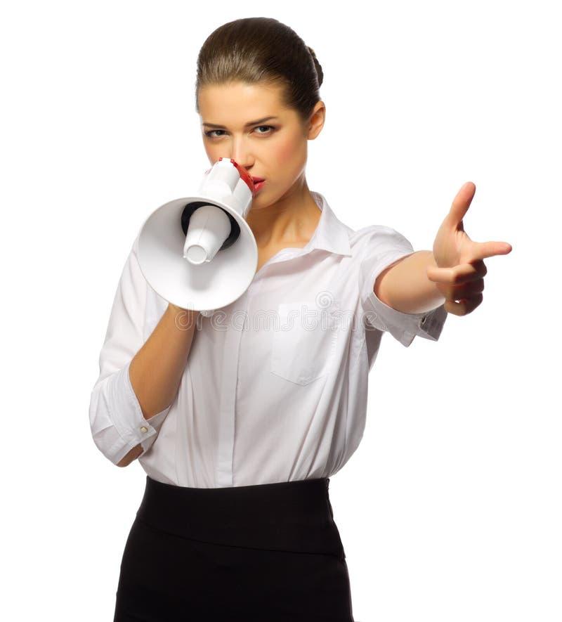 η επιχειρηματίας απομόνω&sigma στοκ φωτογραφίες