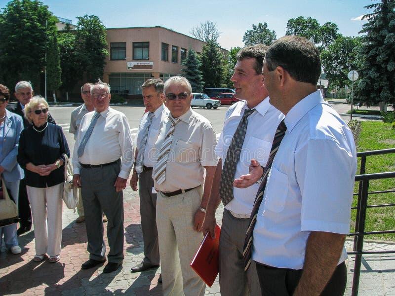 Η εργασία της Επιτροπής επιθεώρησης για την προστασία της εργασίας στην περιοχή Gomel της Λευκορωσίας στοκ εικόνα