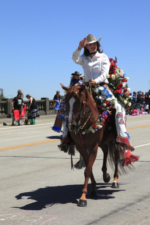 η ετήσια παρέλαση Πόρτλαντ &I στοκ εικόνες