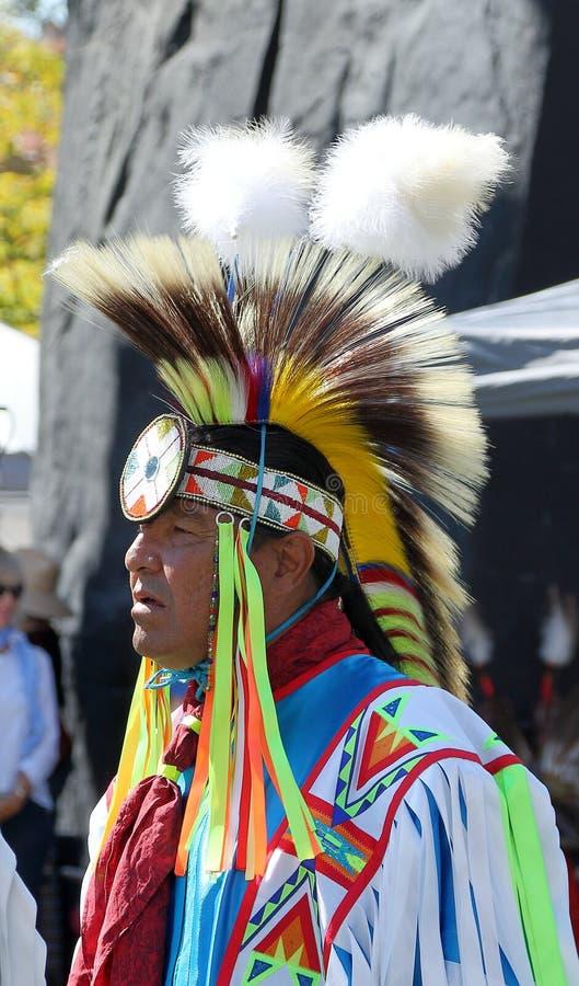 29η ετήσια φιλία Powwow και αμερικανικός ινδικός πολιτιστικός εορτασμός στοκ εικόνες με δικαίωμα ελεύθερης χρήσης