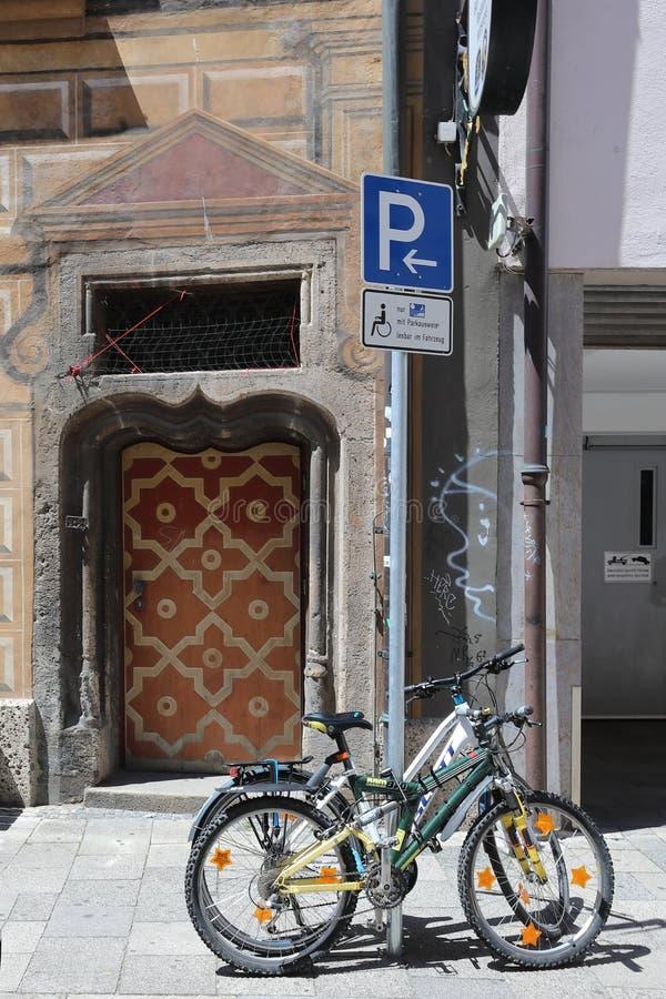 Η ευρωπαϊκή αρχιτεκτονική στο γοτθικό ύφος στο κέντρο του Μόναχου στοκ εικόνες