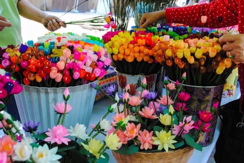 Η εφεύρεση των λουλουδιών εγγράφου στοκ φωτογραφία με δικαίωμα ελεύθερης χρήσης