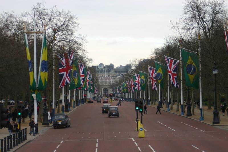 Η λεωφόρος, Λονδίνο στοκ εικόνα