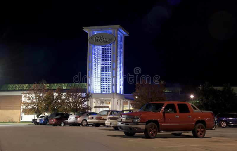 Η λεωφόρος Wolfchase και το Galleria, Μέμφιδα, Τένεσι στοκ φωτογραφία