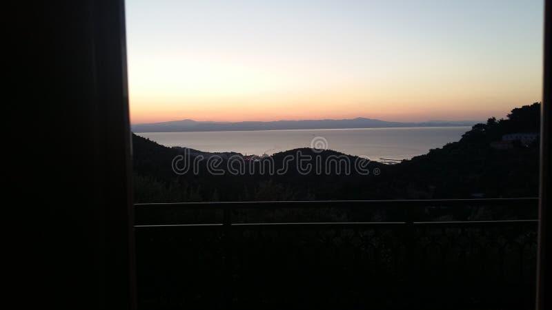η Ελλάδα ιερή φαίνεται καλοκαίρι βουνών στοκ φωτογραφία με δικαίωμα ελεύθερης χρήσης