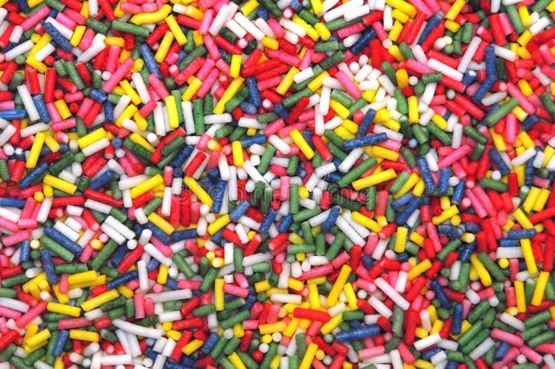 Η ζάχαρη ψεκάζει τη σύσταση στοκ φωτογραφία με δικαίωμα ελεύθερης χρήσης