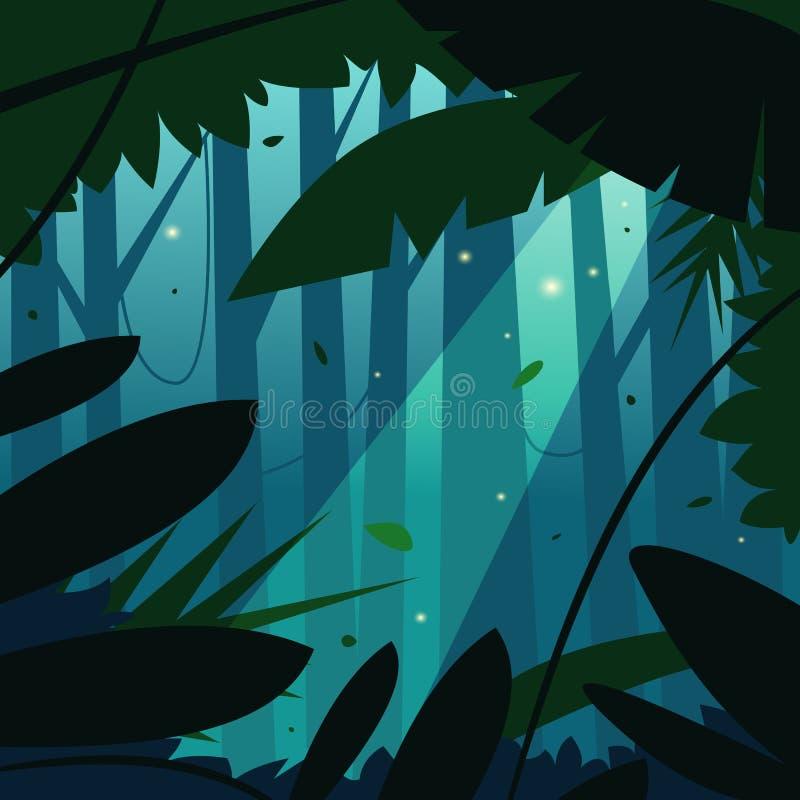 Η ζούγκλα διανυσματική απεικόνιση