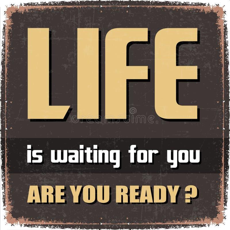 Η ζωή περιμένει σας στοκ φωτογραφία