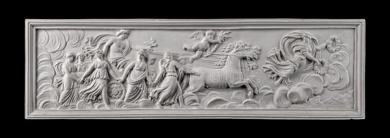 Η ζωγραφική ασβεστοκονιάματος, αρχαιότητα διακοσμεί στοκ φωτογραφίες