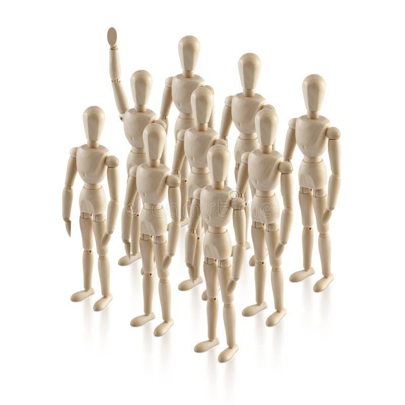 Η ηγεσία, headship, σκέφτεται έξω από το κιβώτιο, σημαντικό αριθ. 1 στοκ φωτογραφίες με δικαίωμα ελεύθερης χρήσης