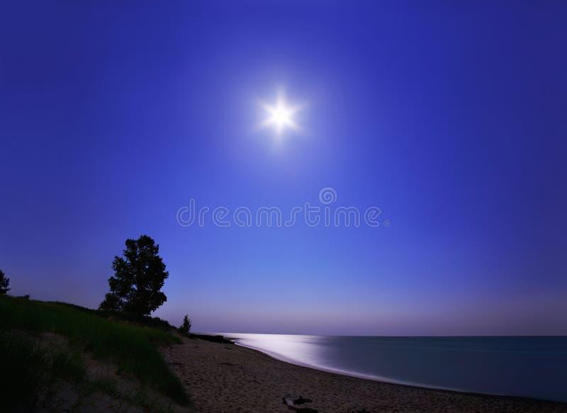 η ημέρα συναντά τη νύχτα στοκ φωτογραφία