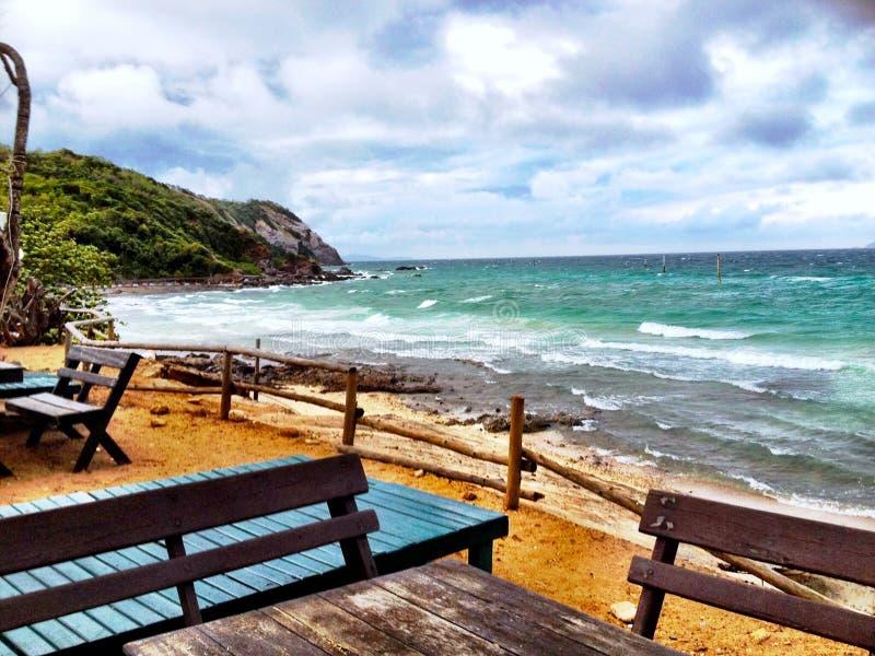 Η ημέρα Koh στην παραλία του τοπικού LAN στοκ φωτογραφία με δικαίωμα ελεύθερης χρήσης
