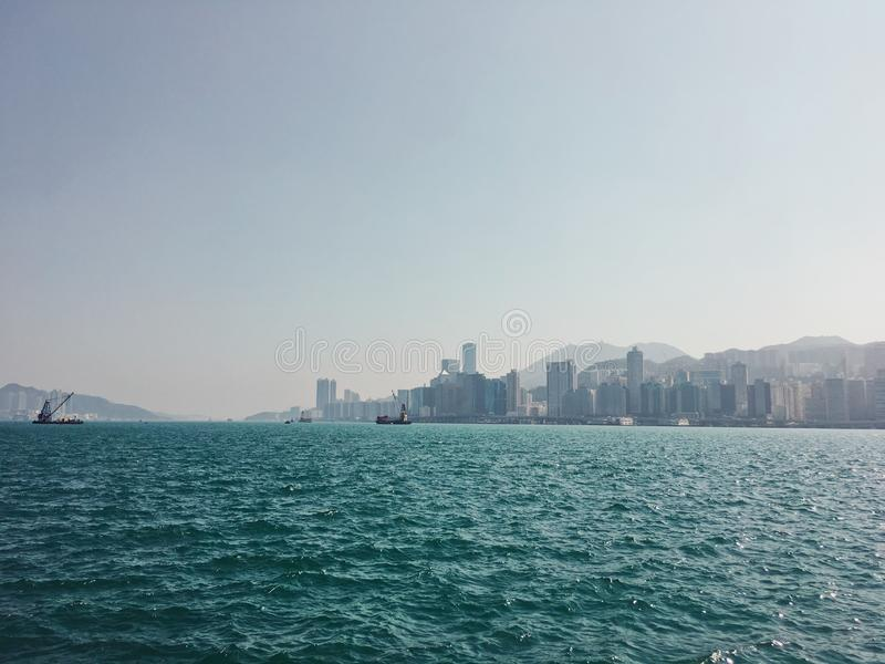 Η θάλασσα το απόγευμα στοκ φωτογραφία