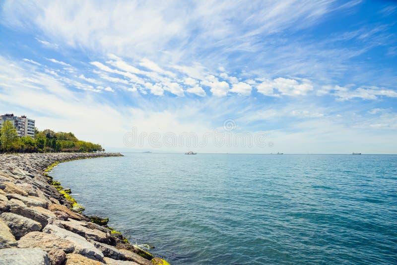 Η θάλασσα Marmara στοκ εικόνα