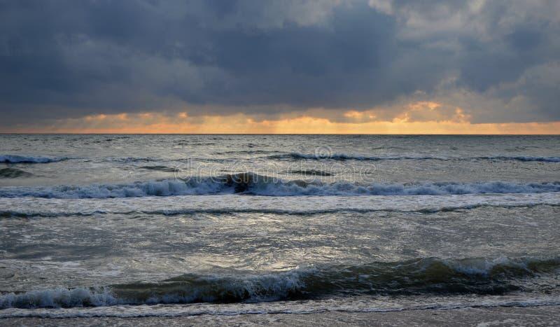Η θάλασσα της Βαλτικής Jurkalne Kurzeme Λετονία στοκ εικόνα