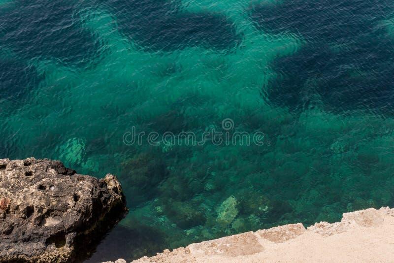 Η θάλασσα Siracusa - της Ιταλίας στοκ φωτογραφία με δικαίωμα ελεύθερης χρήσης