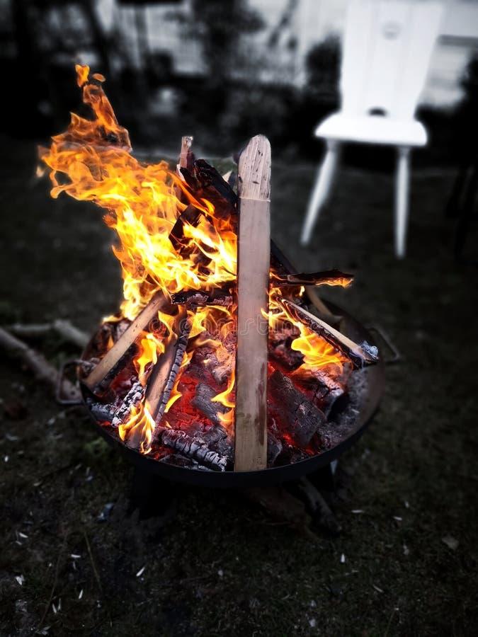 Η θέληση σύλληψης της πυρκαγιάς στοκ εικόνες