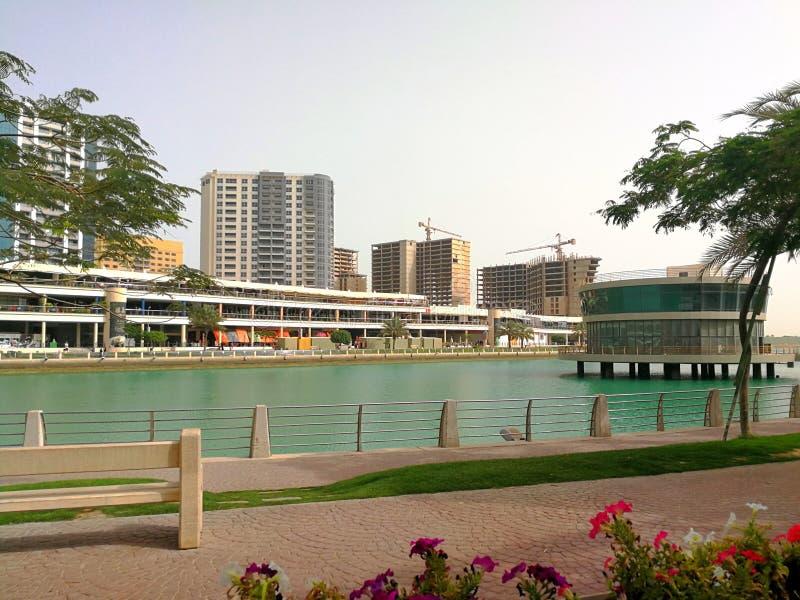 Η θέση Μπαχρέιν τουρισμού όμορφο μπορεί να θεραπεύσει στα boredoms σας στοκ εικόνα
