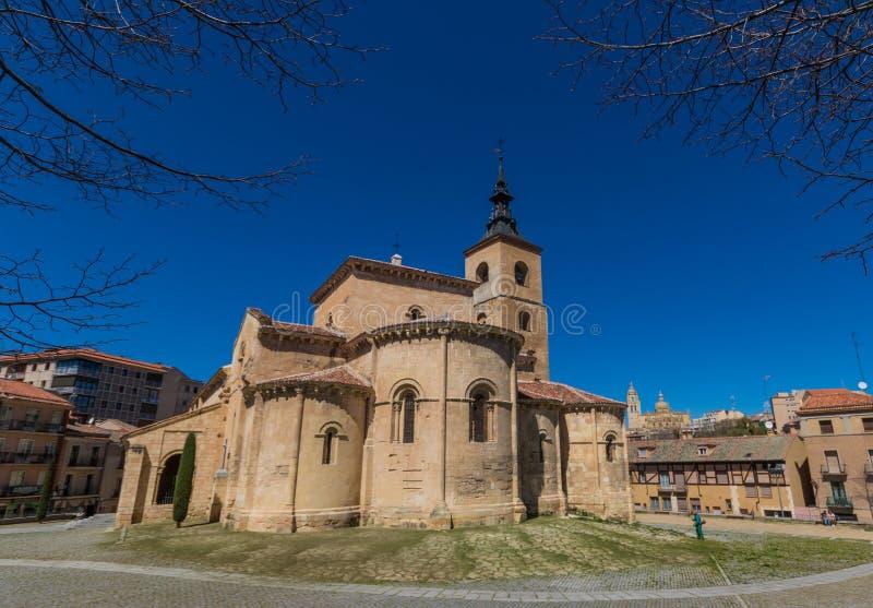 Η θαυμάσια παλαιά πόλη Segovia, Ισπανία στοκ εικόνες με δικαίωμα ελεύθερης χρήσης