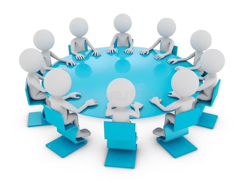 Η διάσκεψη στρογγυλής τραπέζης ελεύθερη απεικόνιση δικαιώματος