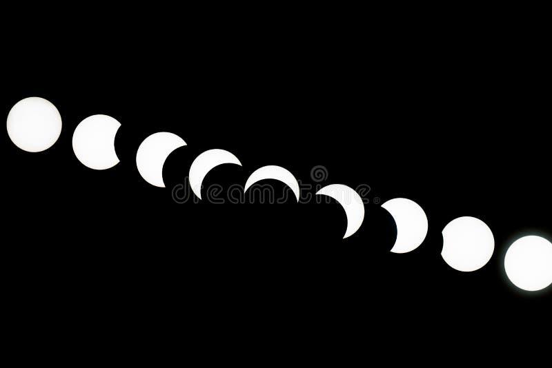 Ηλιακές εκλείψεις--Τορόντο στοκ εικόνα με δικαίωμα ελεύθερης χρήσης