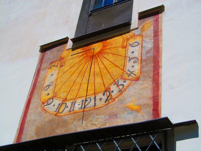 Ηλιακό ρολόι στοκ εικόνες με δικαίωμα ελεύθερης χρήσης