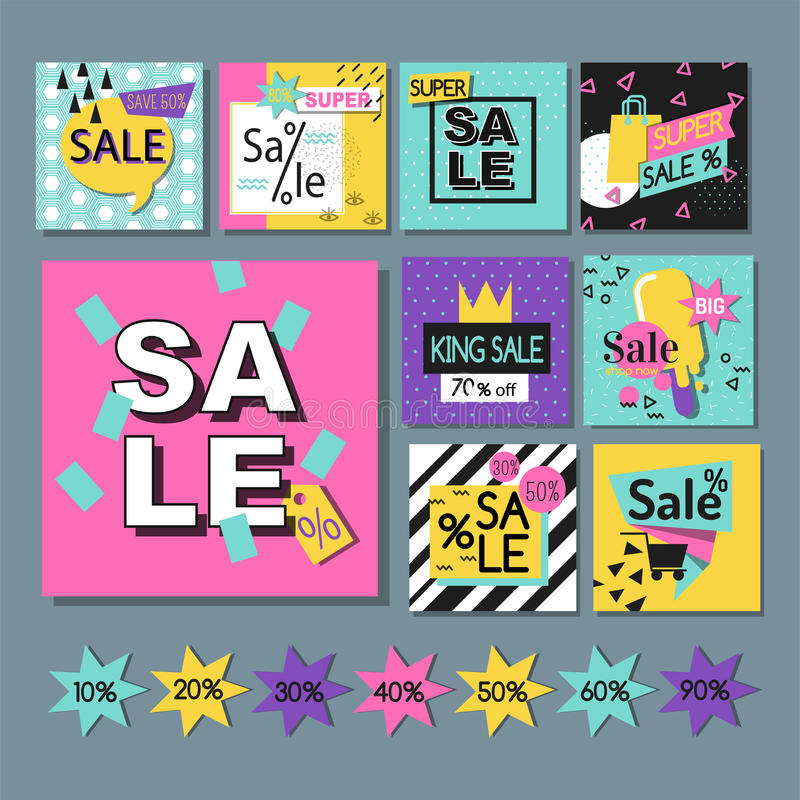 Η διανυσματική μεγάλη πώληση προσφοράς απεικόνισης ειδική flayer λαναρίζει την ειδική αφίσα προώθησης έκπτωσης άνοιξη προτύπων ελεύθερη απεικόνιση δικαιώματος