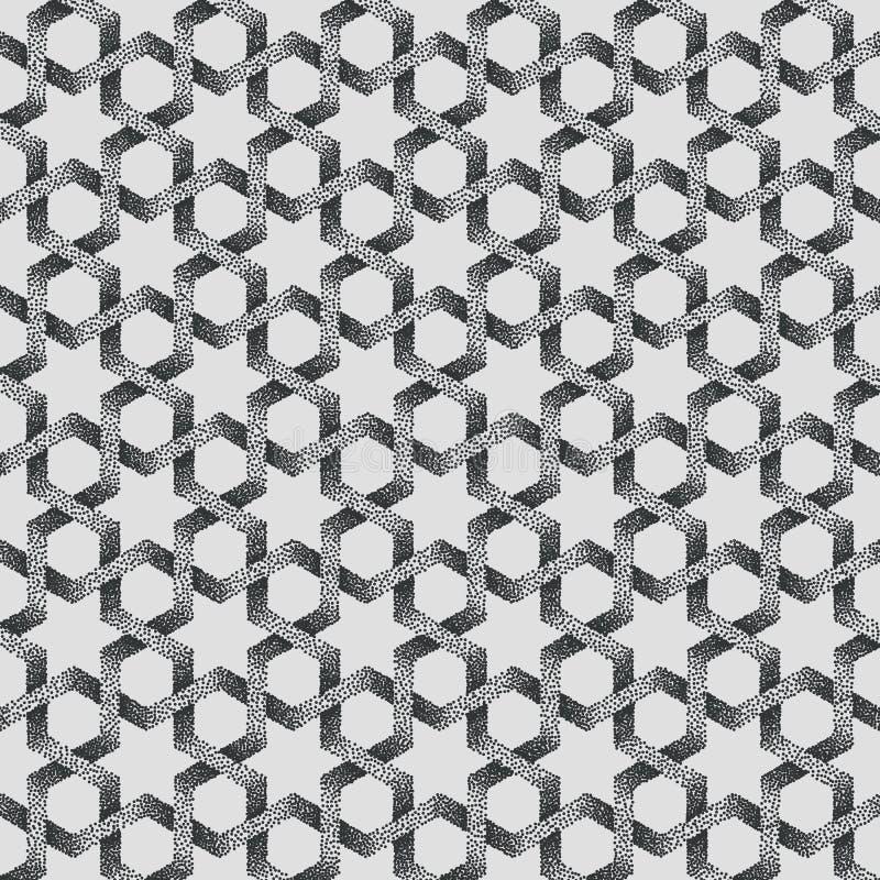 Η διανυσματική περίληψη διέστιξε το γεωμετρικό υπόβαθρο σχεδίων Με βάση τις εθνικές διακοσμήσεις Ζωγραφίστε με κουκίδες την τεχνι διανυσματική απεικόνιση