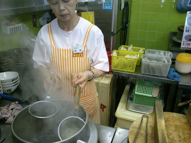Η Ιαπωνία το κατάστημα νουντλς στοκ φωτογραφίες