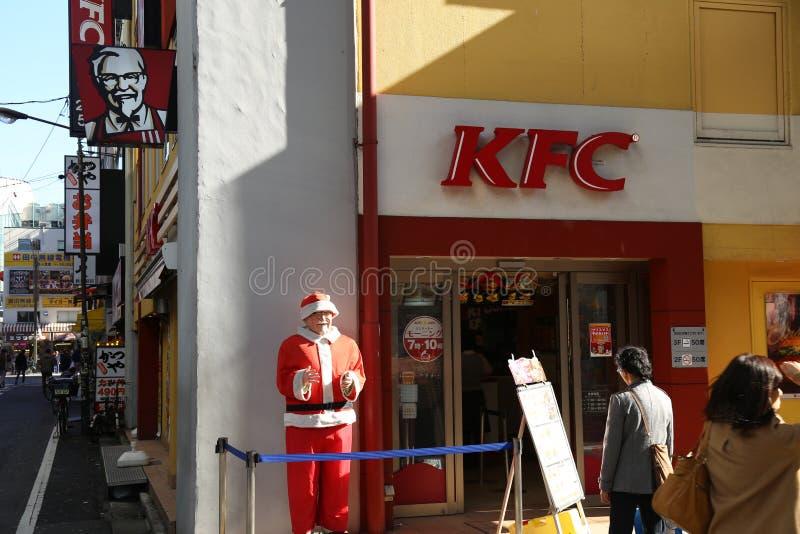 Η ιαπωνική KFC στοκ φωτογραφία με δικαίωμα ελεύθερης χρήσης