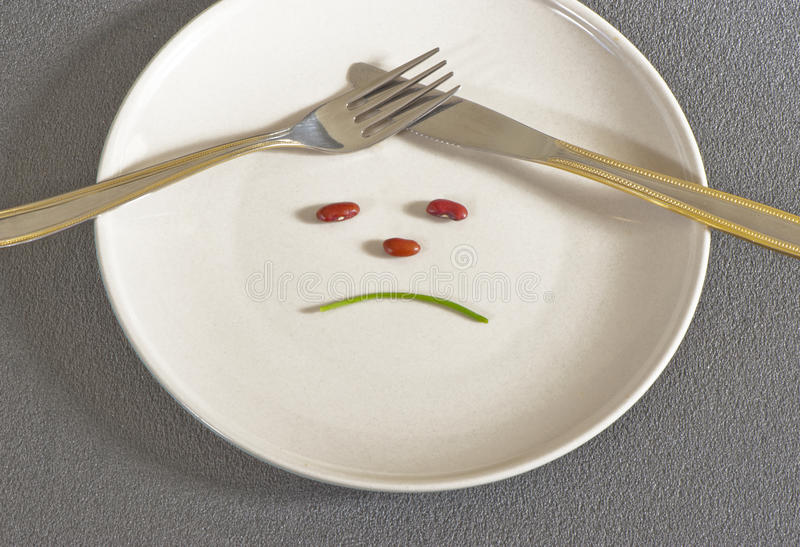Η διατροφή στοκ φωτογραφία