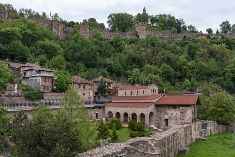 Η ιερή εκκλησία σαράντα μαρτύρων είναι μια μεσαιωνική εκκλησία στην παλαιά πόλη Veliko Tarnovo στοκ φωτογραφία με δικαίωμα ελεύθερης χρήσης
