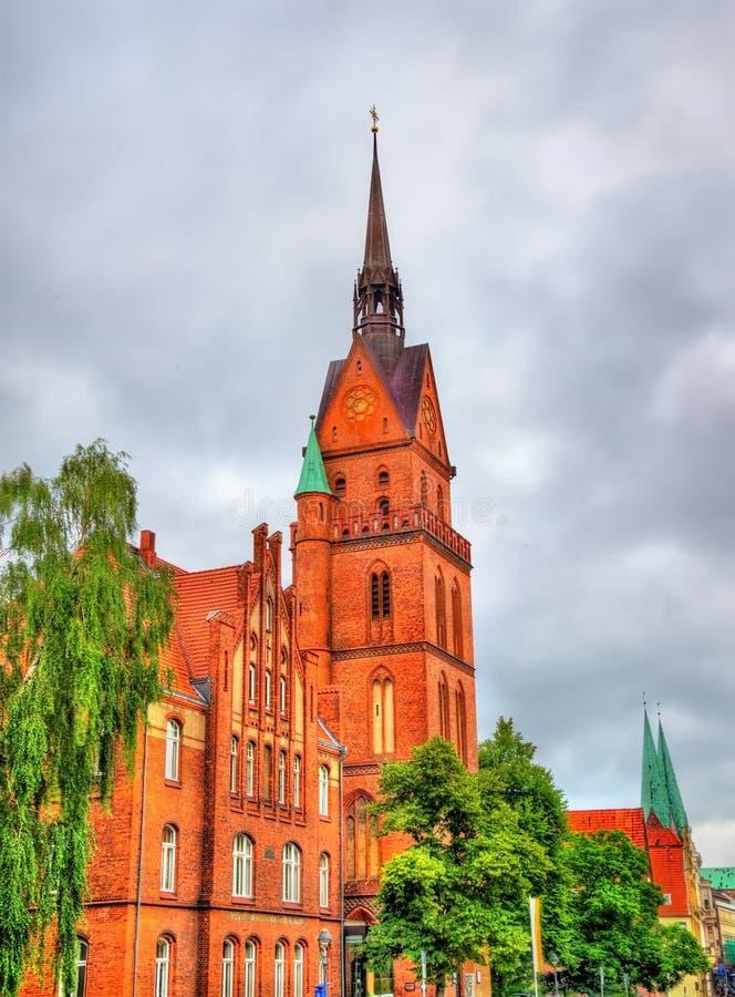 Η ιερή εκκλησία καρδιών στο Λούμπεκ, Γερμανία στοκ φωτογραφία με δικαίωμα ελεύθερης χρήσης