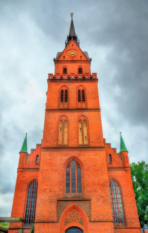 Η ιερή εκκλησία καρδιών στο Λούμπεκ, Γερμανία στοκ εικόνα με δικαίωμα ελεύθερης χρήσης