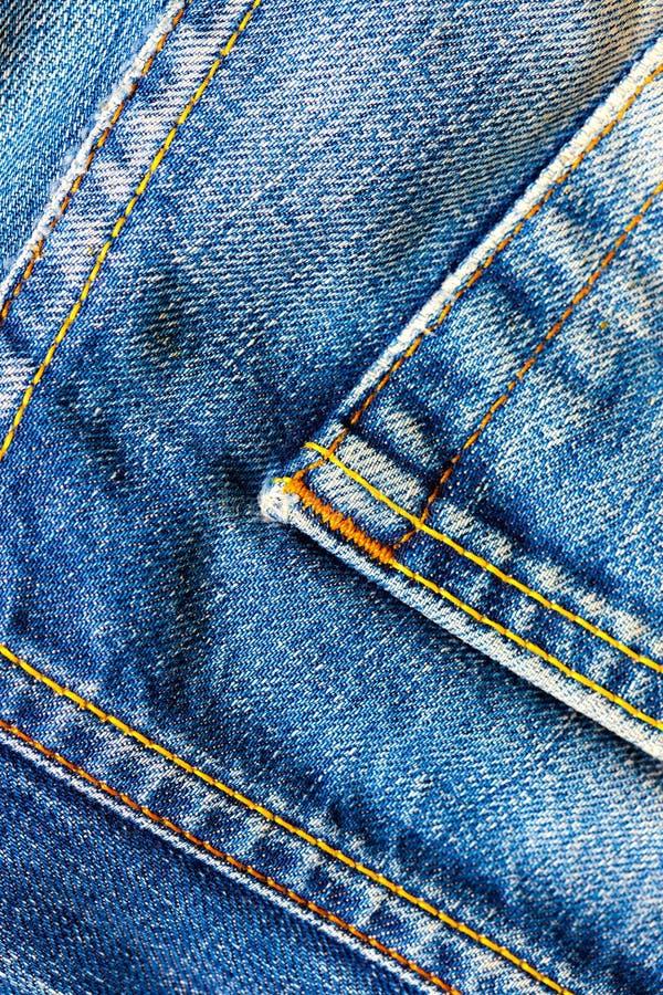 Ηλικίας μπλε τζιν στοκ φωτογραφίες με δικαίωμα ελεύθερης χρήσης