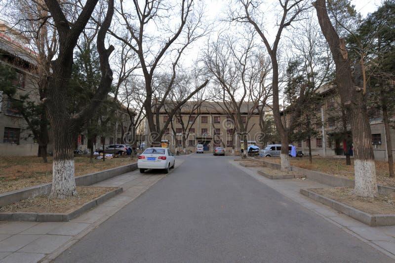 Η ικανότητα dorm του πανεπιστημίου του Πεκίνου, πλίθα rgb στοκ φωτογραφία