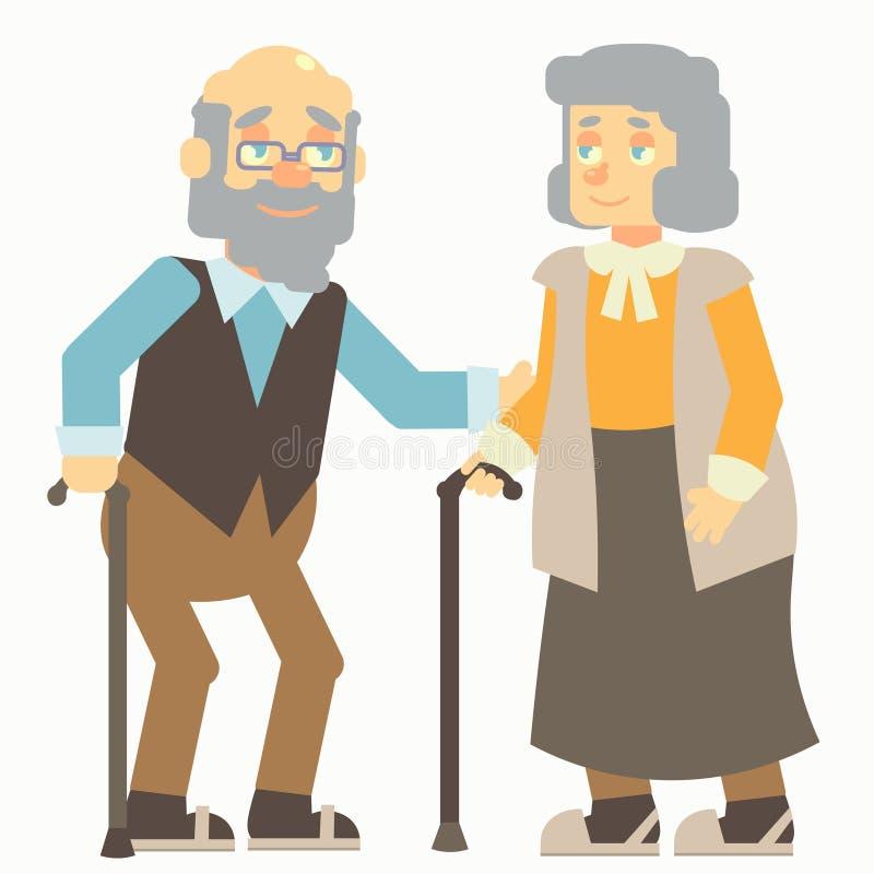 Ηλικιωμένος άνθρωπος ελεύθερη απεικόνιση δικαιώματος