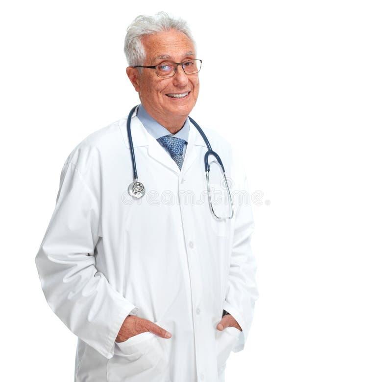 Ηλικιωμένος γιατρός στοκ εικόνες