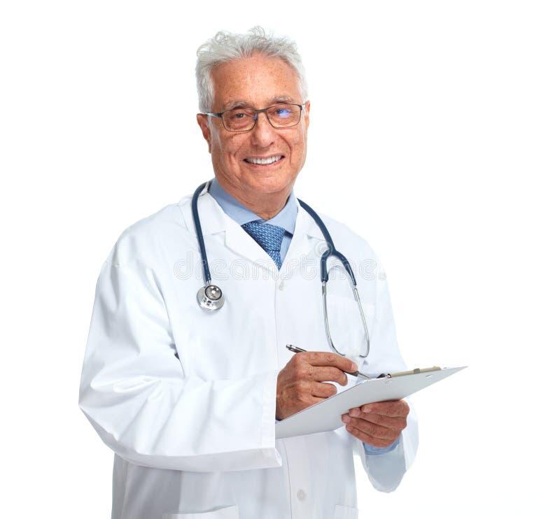 Ηλικιωμένος γιατρός στοκ φωτογραφία με δικαίωμα ελεύθερης χρήσης