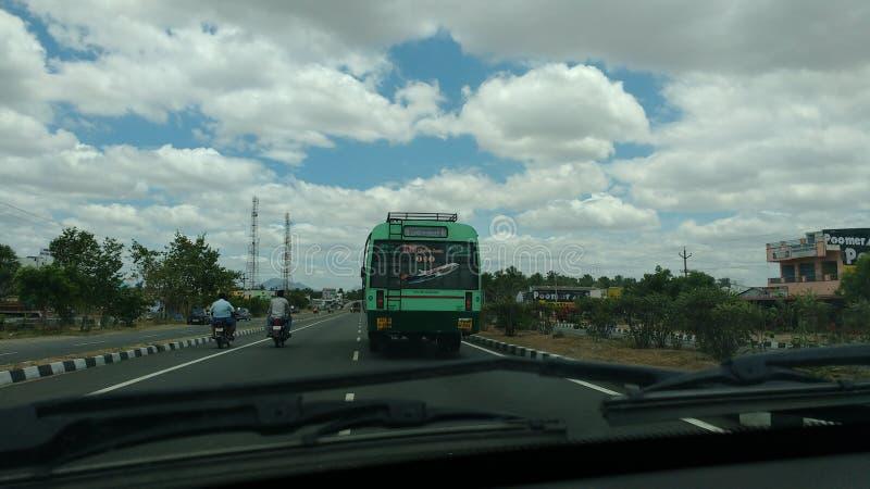 Η ινδική οδική μεταφορά στοκ φωτογραφίες με δικαίωμα ελεύθερης χρήσης