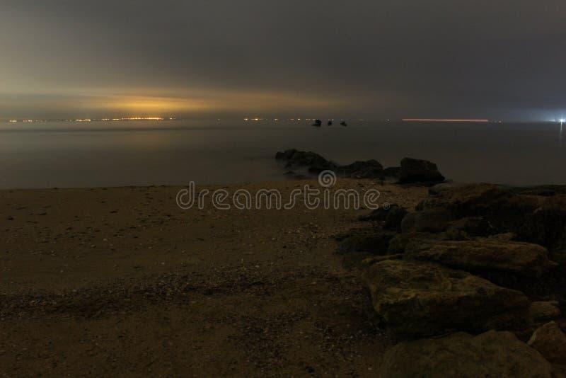 Ηλιοβασίλεμα εν πλω στοκ φωτογραφία με δικαίωμα ελεύθερης χρήσης