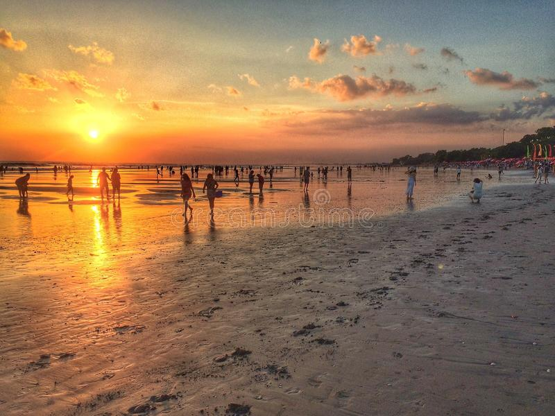 ηλιοβασίλεμα θερμό στοκ φωτογραφία με δικαίωμα ελεύθερης χρήσης