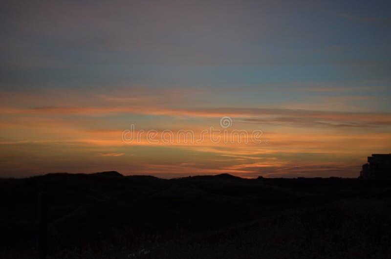 Ηλιοβασίλεμα 2 Ιουλίου στοκ εικόνες