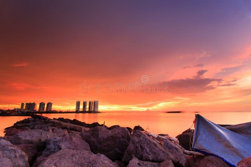Ηλιοβασίλεμα και ανατολή στοκ φωτογραφία με δικαίωμα ελεύθερης χρήσης