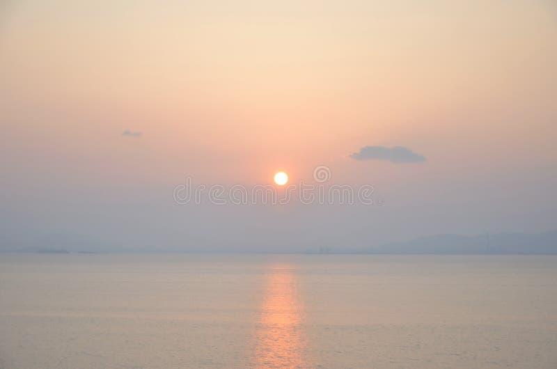 Ηλιοβασίλεμα μαγικό στοκ φωτογραφίες