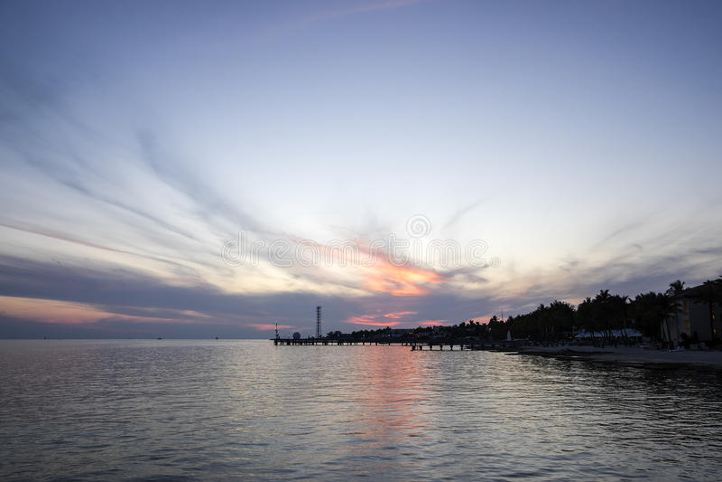 Ηλιοβασίλεμα στη Key West Φλώριδα #2 στοκ φωτογραφία με δικαίωμα ελεύθερης χρήσης