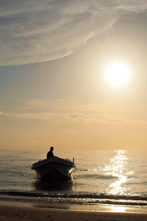 Ηλιοβασίλεμα στον παράδεισο στοκ εικόνες
